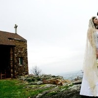 Wedding Dresses, Fashion, dress, Portrait, Kiss, Couple, Mountain, Michelle posey photography, Camp mitchell, Mountaintop