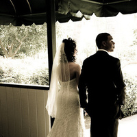 Ceremony, Flowers & Decor, Wedding Dresses, Fashion, brown, dress, Bride, Waiting, Sepia, Chris guzman photography