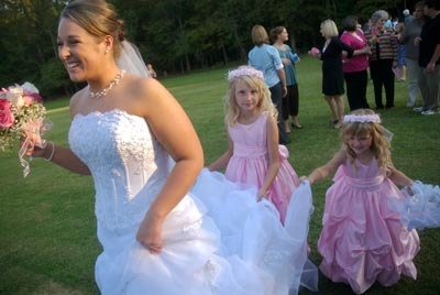 Reception, Flowers & Decor, Flower Girls, Wedding Dresses, Fashion, pink, dress, Wedding party