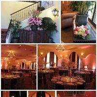 Reception, pink, white, green, brown, Lemon drop socials, Flowers & Decor