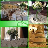 Reception, Flowers & Decor, white, green, Lemon drop socials