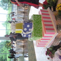 Cakes, white, yellow, pink, red, purple, cake