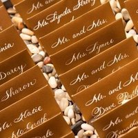 Stationery, Invitations, Place Cards, Escort Cards, Calligraphy by jennifer