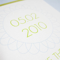 Stationery, white, blue, green, invitation, Invitations, Save-the-Dates, Save the date, Monogram, Ps paper goods