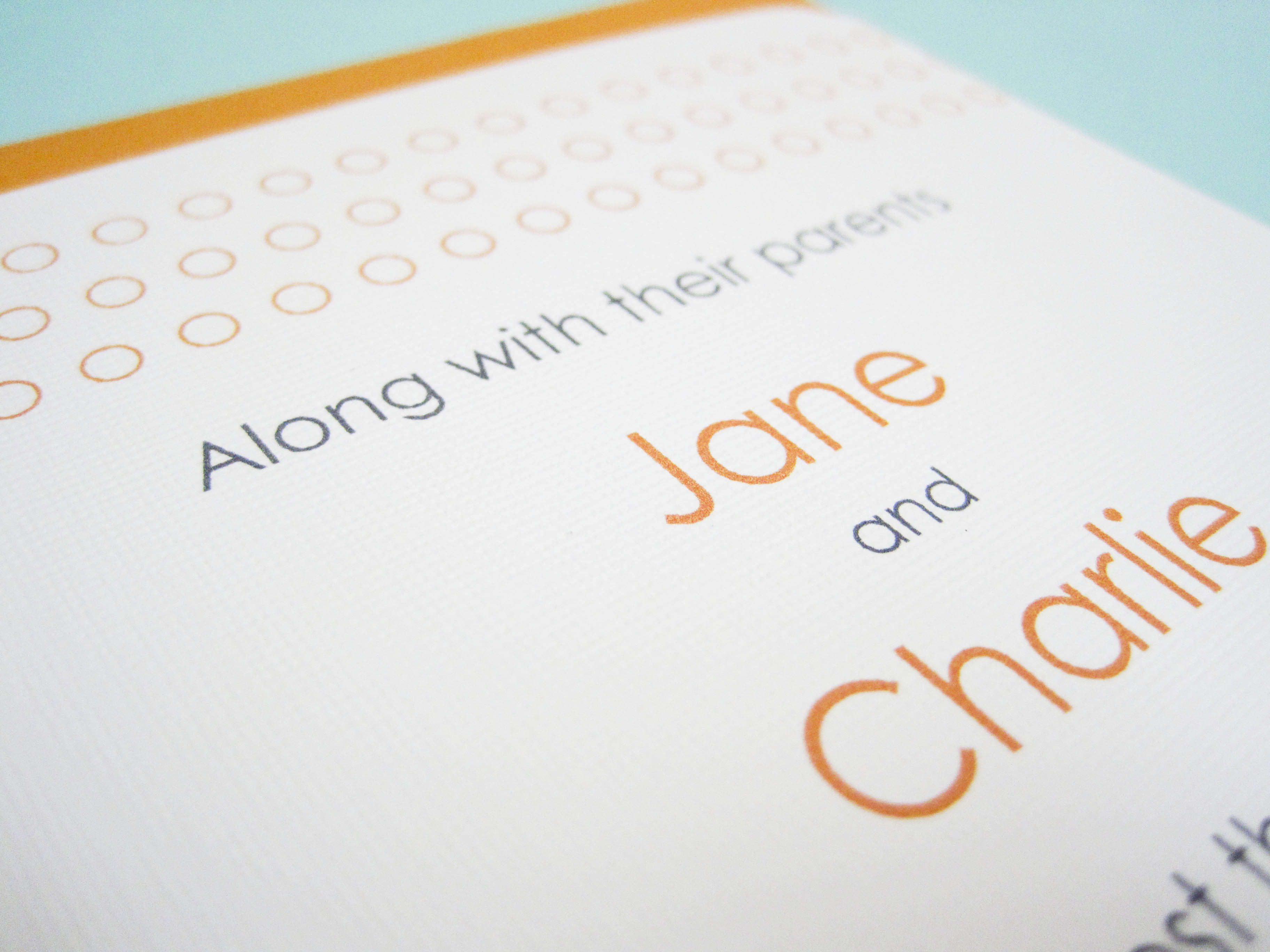 Stationery, white, orange, invitation, Modern, Modern Wedding Invitations, Invitations, Rsvp, Set, Dots, Ps paper goods