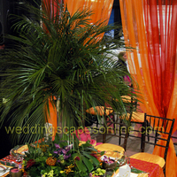 Ceremony, Reception, Flowers & Decor, orange, purple, brown, Ceremony Flowers, Flowers