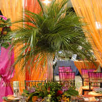 Ceremony, Reception, Flowers & Decor, orange, purple, brown, gold, Ceremony Flowers, Flowers