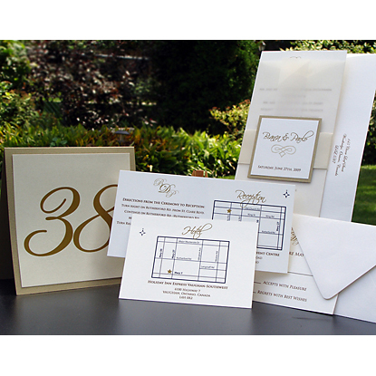 Stationery, white, silver, gold, Classic Wedding Invitations, Invitations, Cards, Maps, Reply, Ingledew invites