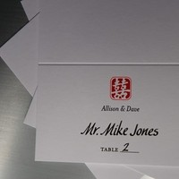 Reception, Flowers & Decor, white, red, The left handed calligrapher - calligraphy