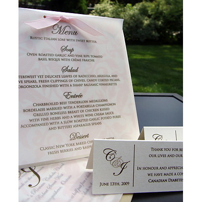 Stationery, pink, brown, Invitations, Cards, Maps, Reply, Ingledew invites