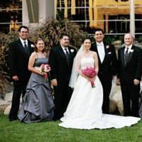 Flowers & Decor, Bridesmaids, Bridesmaids Dresses, Fashion, pink, silver, Bridesmaid Bouquets, Flowers, Wedding, Party, Lisa cristea, Flower Wedding Dresses