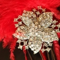 Jewelry, Wedding Dresses, Fashion, red, dress, Brooches, Brooch