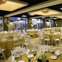 Ceremony, Reception, Flowers & Decor, Cakes, cake, Outdoor, Wedding, Hotel, Catering, Linens, Dinner, Courtyard by marriott los angeles westside