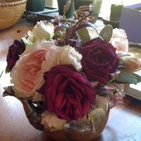 Flowers & Decor, pink, purple, Centerpieces, Flowers