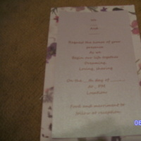 Stationery, white, Invitations, Jessicas custom invitations