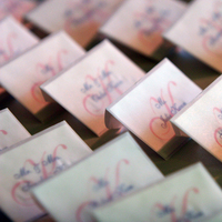 Stationery, pink, Escort Cards, Dorothy rose wedding and event productions