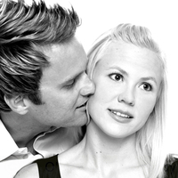 white, black, Engagement, Studio, A obrien photography, Sessions