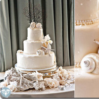 Cakes, cake, Beach, Beach Wedding Cakes, Fl, Plantation, Agnes lopez photography, Ponte vedra beach