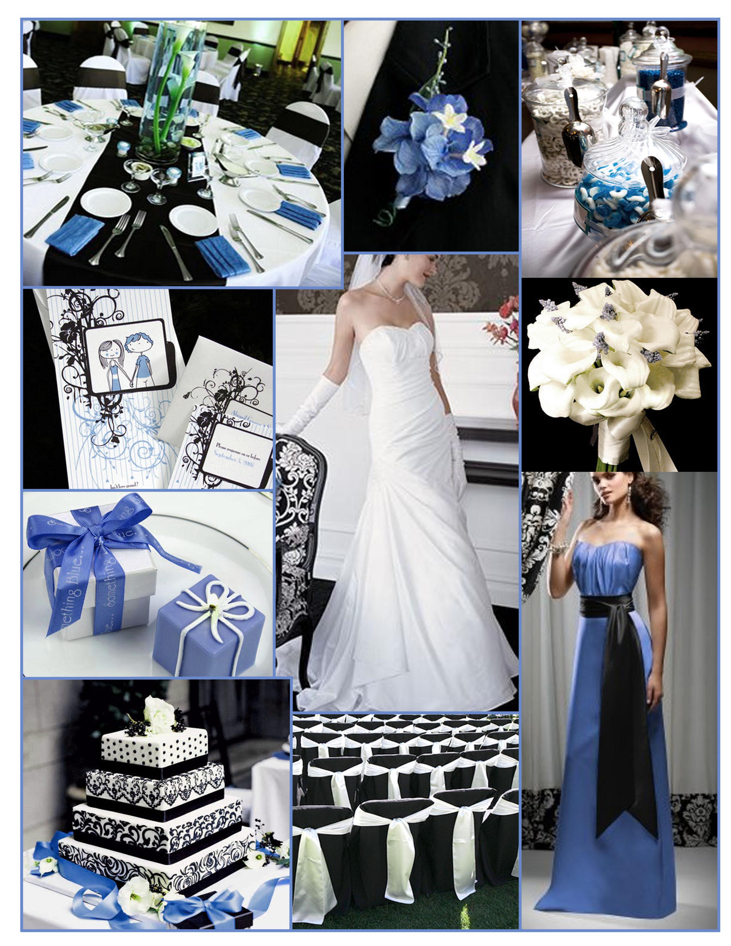 Inspiration, white, blue, black, Board, Dessy