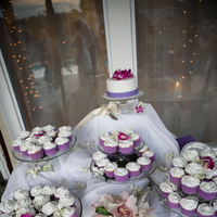 Inspiration, Reception, Flowers & Decor, Cakes, white, pink, purple, green, cake, Flowers, Board, Coast couture