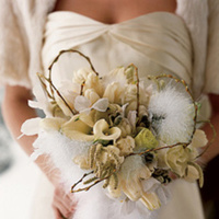 Flowers & Decor, white, Rustic, Flowers, Boa