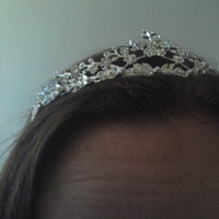 Beauty, Jewelry, silver, Tiaras, Hair, Tiara