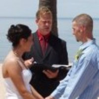 Ceremony, Flowers & Decor, Beach, Beach Wedding Flowers & Decor, Wedding, I now pronounce you wedding services