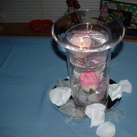 Reception, Flowers & Decor, Centerpieces, Centerpiece, Candle, Lampe creative impressions, Floating heart candle centerpiece