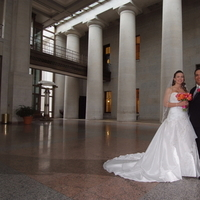 Reception, Flowers & Decor, white, orange, pink, red, black, Bride Bouquets, Bride, Flowers, Groom, Ohio, Statehouse, Columbus ohio photographer