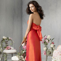 Bridesmaids, Bridesmaids Dresses, Fashion, orange, Jim hjelm occasions