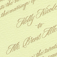 Calligraphy, Stationery, green, invitation, Invitations, Letterpress, A written treasurecom