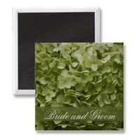 Flowers & Decor, Favors & Gifts, Stationery, green, favor, Invitations, Flower, Custom, Floral, Hydrangea, Magnet, A wedding collection by lora severson photography, Floral wedding, Celedon, Hydrangea wedding, Wedding magnet