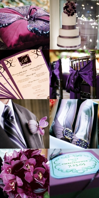Ceremony, Inspiration, Reception, Flowers & Decor, Cakes, white, purple, cake, Ceremony Flowers, Flowers, Board