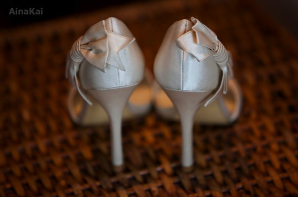 Shoes, Fashion, white, Ainakai hawaii wedding photography