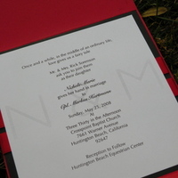 Stationery, white, red, black, invitation, Modern, Modern Wedding Invitations, Invitations, Whitney westberry events and invitations