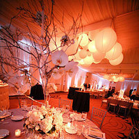 Reception, Flowers & Decor, red, black, gold, Flowers, Exquisite events