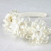 Beauty, Flowers & Decor, Headbands, Flower, Girls, Headband