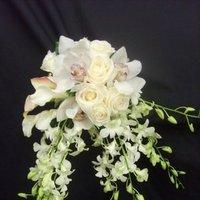 Ceremony, Flowers & Decor, white, Ceremony Flowers, Bride Bouquets, Flowers, Flower, Bouquet, Orchid, Brides, Roseannes floral
