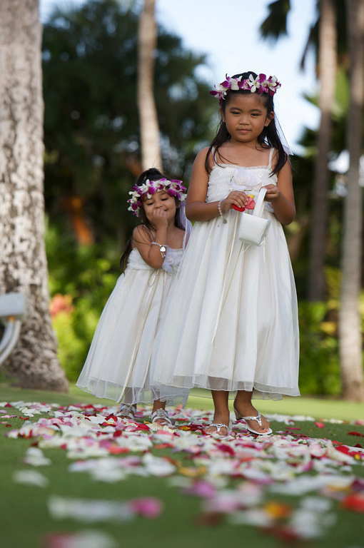 Ceremony, Flowers & Decor, Flower, Girls