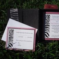 Stationery, white, pink, black, invitation, Invitations, Boxed, Set, Silk, Print, Watermelon, Thai, Animal, Zebra, Sleepy hedgehog press, Hotpink