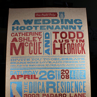Stationery, red, blue, brown, invitation, Invitations, Custom, Letterpress, Wedding invitation, Poster, Carnival, Smokeproof press