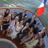 Ceremony, Reception, Flowers & Decor, Bridesmaids, Bridesmaids Dresses, Destinations, Fashion, white, Europe, Wedding, Paris, Yacht, france, Parisian, Parisian events, An american wedding planner in paris