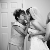 Beauty, Bridesmaids, Bridesmaids Dresses, Wedding Dresses, Fashion, white, black, dress, Bride, Kiss, Hair, Mother, Getting, Ready, Studio six-o-three photography
