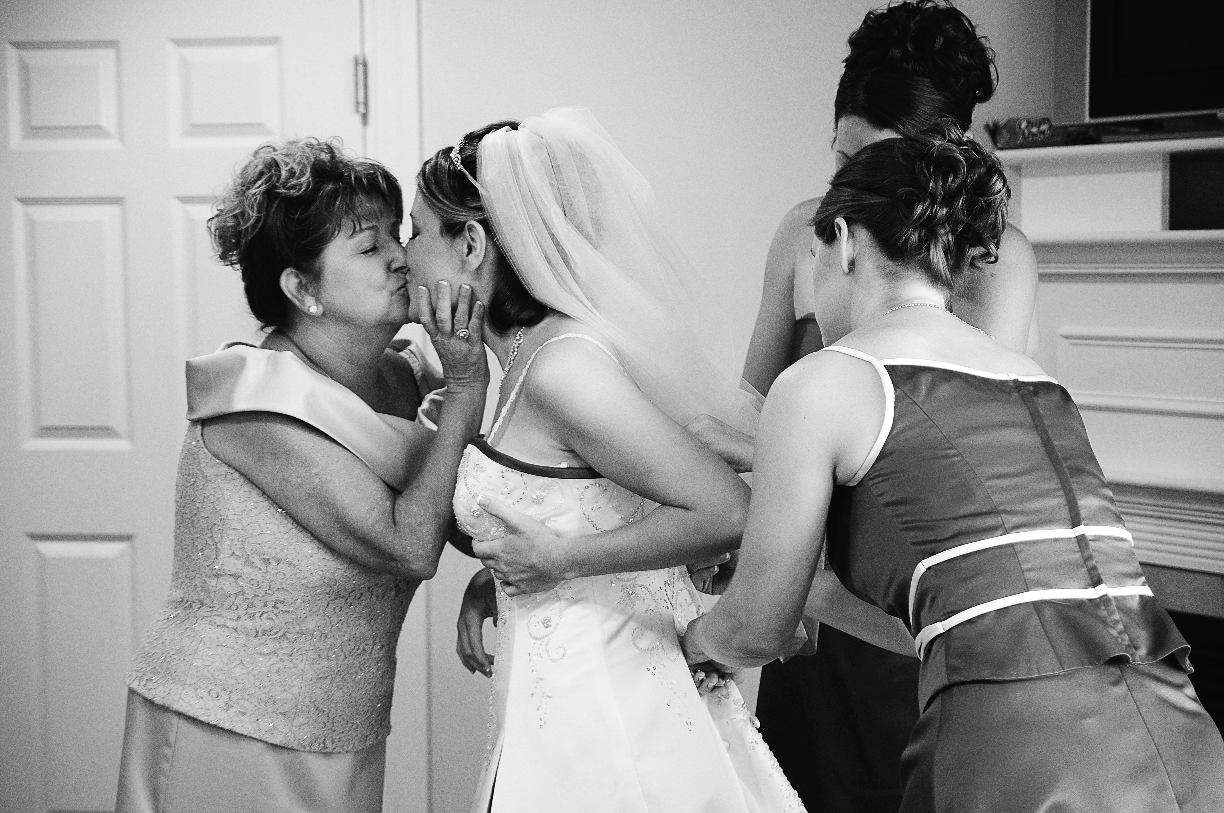 Beauty, Bridesmaids, Bridesmaids Dresses, Wedding Dresses, Fashion, white, black, dress, Bride, Kiss, Hair, Mother, Getting, Ready, Studio six-o-three photography