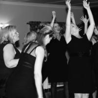 Reception, Flowers & Decor, white, black, Dance, Dancing