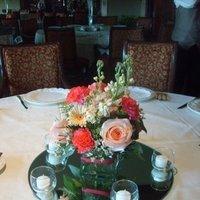 Reception, Flowers & Decor, pink, Centerpieces, Flowers, Centerpiece, Roseannes floral