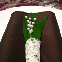 Reception, Flowers & Decor, green, brown, Table setting, Napkin, Place setting, Edmonton, Alberta, Jennifer bergman weddings