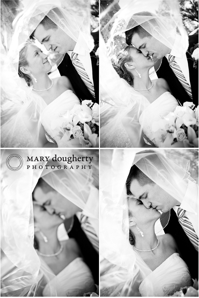 Inspiration, Veils, Romantic Wedding Dresses, Fashion, white, black, Bride, Groom, Veil, Romantic, Kiss, Board, Photos, Bw, Love, Multiple, Mary, Mary dougherty photography, Storyboard, Dougherty