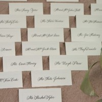 Calligraphy, Stationery, white, black, Invitations, Place Cards, The sophisticated scribble handwritten callligraphy