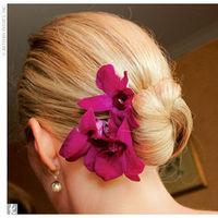 Beauty, pink, Hair